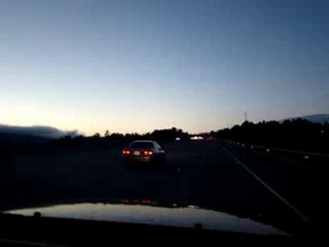 I-280 North from Half Moon Bay