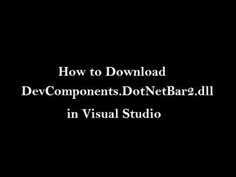 How to Download DevComponents DotNetBar2 dll