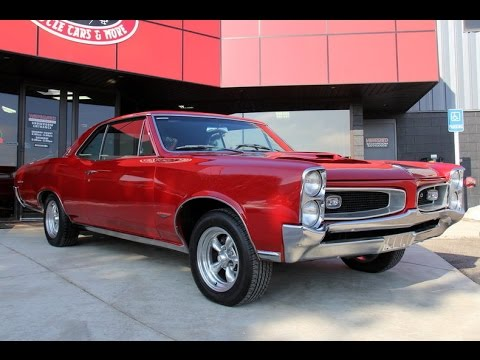 1966 Pontiac GTO Tri-Power For Sale