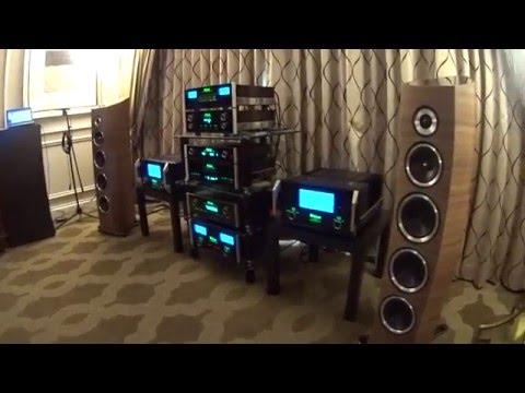 Mcintosh set up at CES 2016