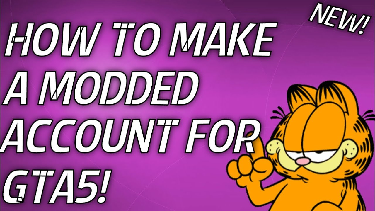 HOW TO MAKE A MODDED ACCOUNT FOR GTA5 ON PS4/PS3/ONE/360!