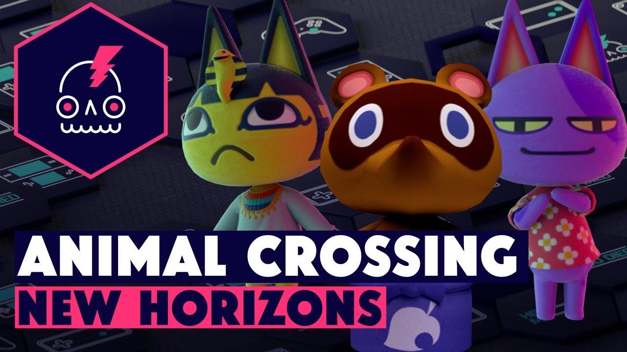 Обзор ANIMAL CROSSING NEW HORIZONS • Самоизоляция с антропоморфными зверятами в дикой местности