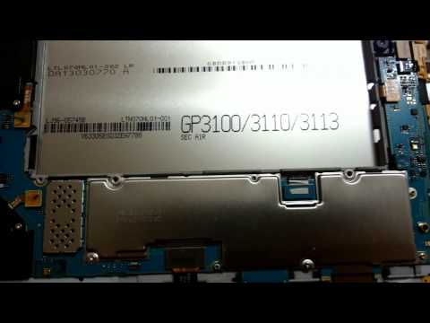 How to disassemble Samsung Galaxy tab 2 7.0 P3100 for battery replacement or for repair.