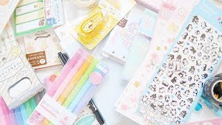 HUGE JAPANESE STATIONERY HAUL! ~ A Beautiful Fable