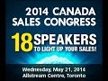 2014 Canada Sales Congress - Brian Mallard - 40 Years in 18 Minutes