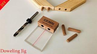 DIY Simplest Doweling Jig // Kavela Birleştirme Aparatı