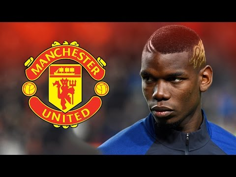 Paul Pogba - Welcome to Manchester United - Skills & Goals 2016 HD