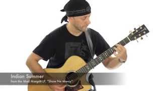 Acoustic guitar solo - Indian Summer - Carl Culpepper - Mad Margritt