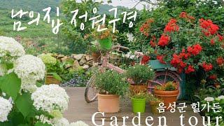 [남의집정원구경] 충북 음성의 힐가든, 파종으로 가꾼 없는 꽃이 없는 정원