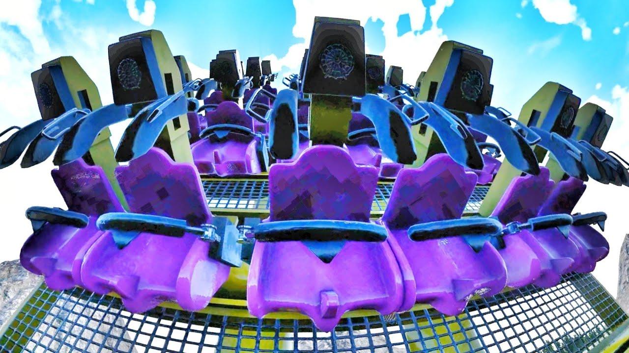 Theme Park 3D Simulator Thrill Ride #Shorts