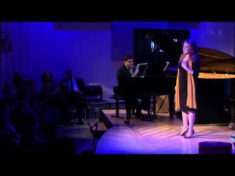 """Jennifer Johnson Cano sings """"Spring Waters""""  by Rachmaninoff"""