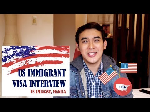 US VISA APPLICATION: US Embassy Interview Experience + Tips
