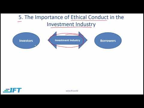 Level I CFA: Ethics R01 Ethics and Trust in the Investment Profession Lecture 2