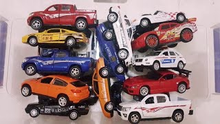 Cars for Kids review from Box Full of Cars, Police cars with many cars