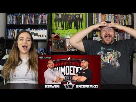 Erwin VS Andreyko REACTION - Movie Trivia Schmoedown