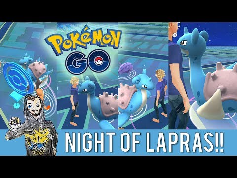 NIGHT OF LAPRAS! ❄ Pokemon GO Soltices Event Day 1! SF Bay Area, Nightly Adventure, East Bay