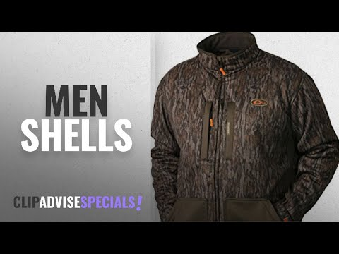 Drake Shells [ Winter 2018 ]: Drake Men's Non-Typical Silencer Soft Shell Jacket Bottomland DW5105
