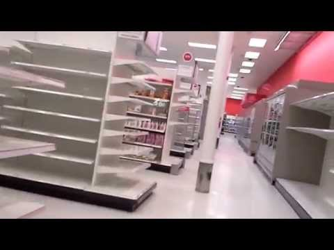Exploring a Bankrupt Target Store in Canada