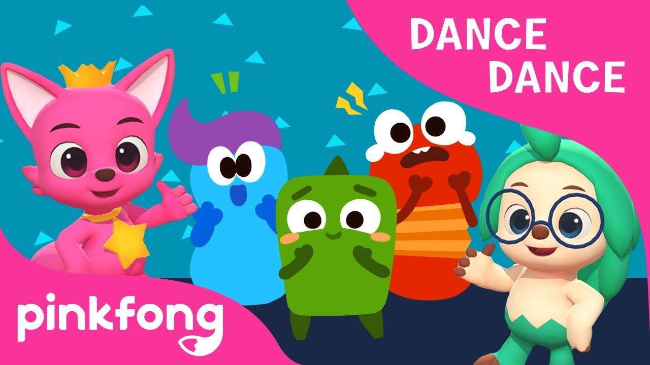 Feelings   Learn Different Feelings   Dance Dance   Pinkfong Songs for Children