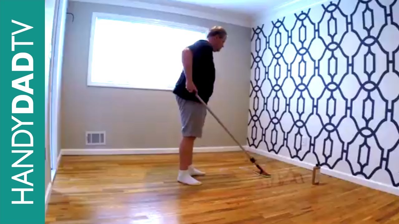 Minwax Hardwood Floor Reviver Master Bedroom Makeover Part 2