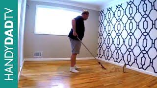 Minwax Hardwood Floor Reviver | Master Bedroom Makeover (Part 2)