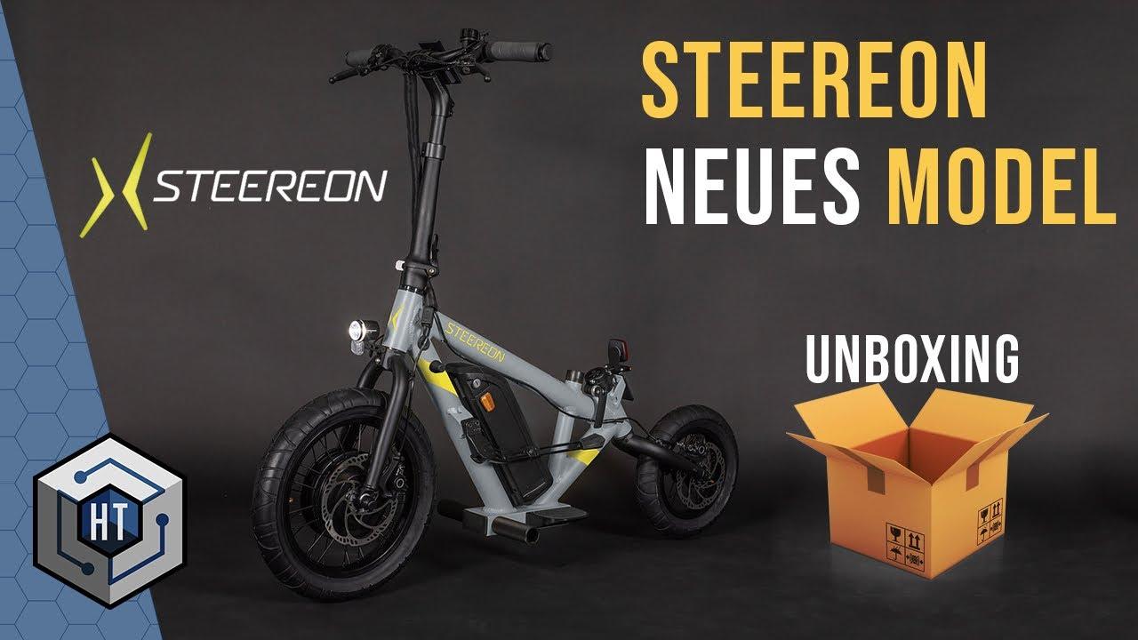STEEREON C20-C25 ⚡Besser als ein E-BIKE?⚡ E-Scooter, E-Roller, E-Bike Hybrid, UNBOXING (2021 Modell)