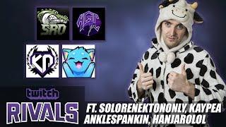 TWITCH RIVALS GAME 1 - FT. SoloRenektonOnly, KayPea, AnkleSpankin, HanjaroLoL