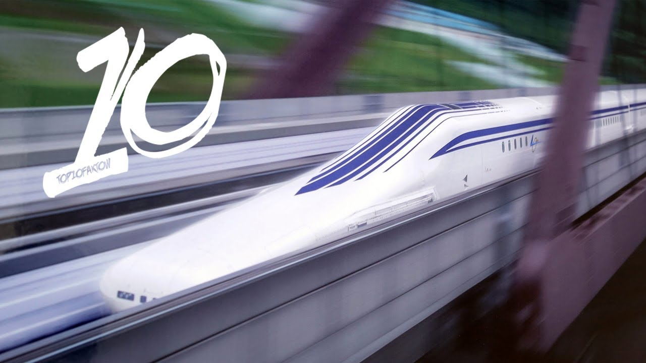 Najszybsze pociągi świata! Pendolino to przy nich żłów!