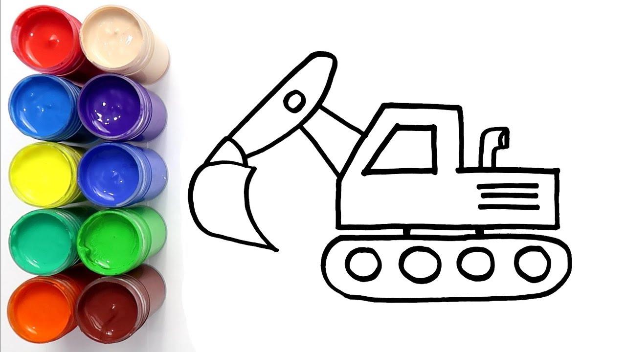 Cara Menggambar Dan Mewarnai Mobil Angkot Untuk Anak By Menggambar Mewarnai