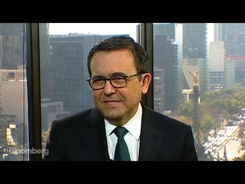Mexico's Economy Minister Guajardo on Nafta, Trade, Trump