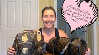 Handbag Reveal | Louis Vuitton Manhattan PM & Custom Dyed Louis Vuitton Papillon