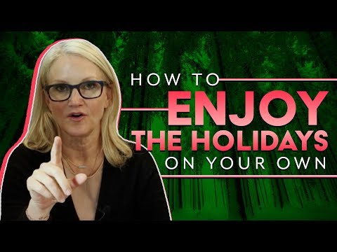 Celebrating the holidays when you're alone   Mel Robbins