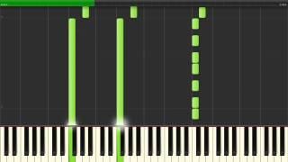 The xx - Intro (Piano Tutorial | Synthesia)