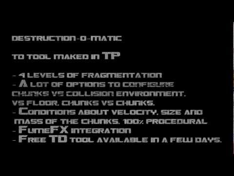 Destruction-o-matic, tp tool (blackbox)