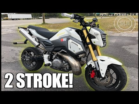 Смотрите сегодня Honda Grom Toce Performance Full Exhaust