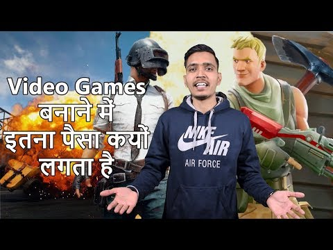 Why AAA Games Cost So Much To Make ? In Hindi