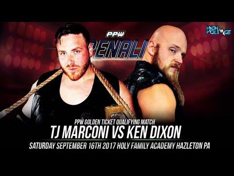 "PPW GOLDEN TICKET QUALIFIER TJ MARCONI VS KEN DIXON ""ADRENALINE"" 9/16"