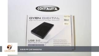 U32 Shadow™ 250GB External USB 3.0 Mini Portable Hard Drive | Review/Test