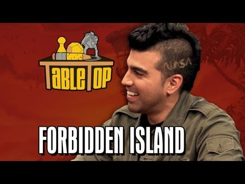 Forbidden Island: Wil Wheaton, John Scalzi, Bobak Ferdowsi, and Jason Finn on TableTop SE2E05