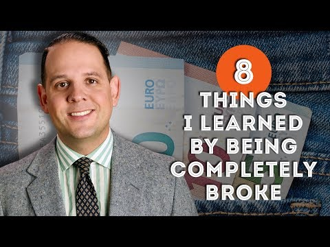 8 Things I Learned by Being Completely Broke