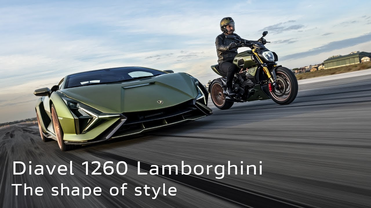 New Diavel 1260 Lamborghini | The shape of style