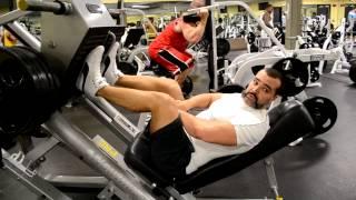 Тренинг НОГ Тренировка квадрицепса и бицепса БЕДРА при межпозвоночной грыже