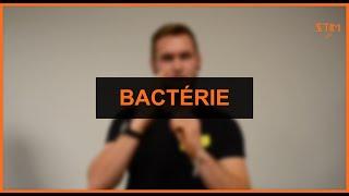 Biologie - Bactérie (2 signes)