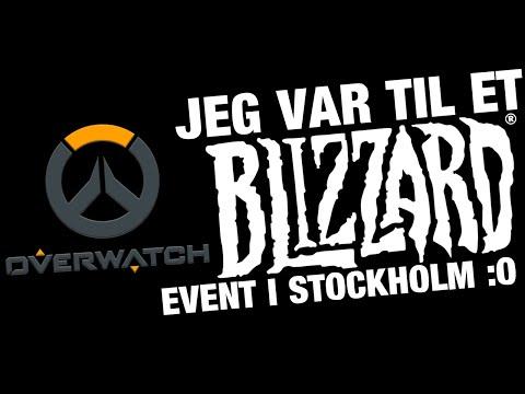 JEG VAR TIL ET BLIZZARD EVENT I STOCKHOLM :O