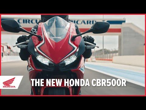 Honda CBR500R: Pure Sports Aggression