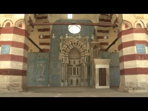 Restoration of Blue Mosque in Cairo