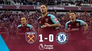HIGHLIGHTS: WEST HAM UNITED 1 CHELSEA 0