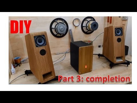 AWESOME DIY  SPEAKER | Completion(verneering)