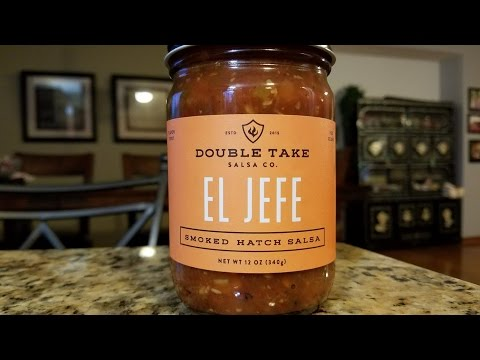 "Double Take Salsa Co. ""El Jefe"" Smoked Hatch Salsa Review"