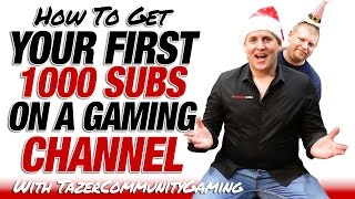 Video How To Get Your First 1000 Subscribers On A Gaming Channel download MP3, 3GP, MP4, WEBM, AVI, FLV Juli 2018